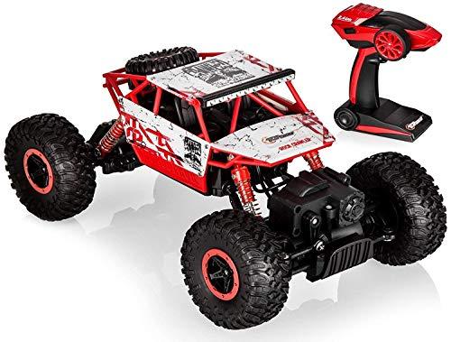 Top Race RC Fernbedienung Cool Cars Rock Crawler / Monster Truck 4WD / Off Road Fahrzeug Spielzeug 2,4 GHz Batterien. TR-130R