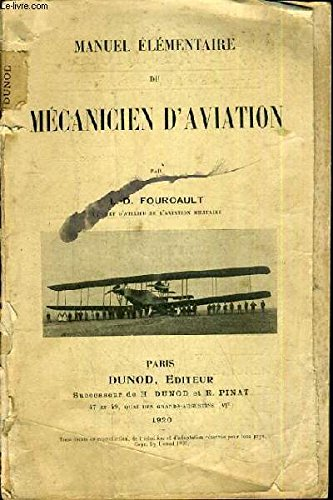 MANUEL ELEMENTAIRE DU MECANIEN D'AVIATION