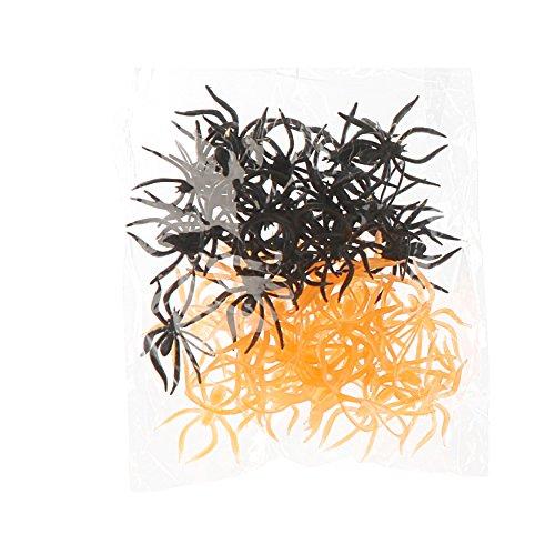 Preis am Stiel 4 Packungen Halloween Streudeko Spinnen   Party   Tischdeko