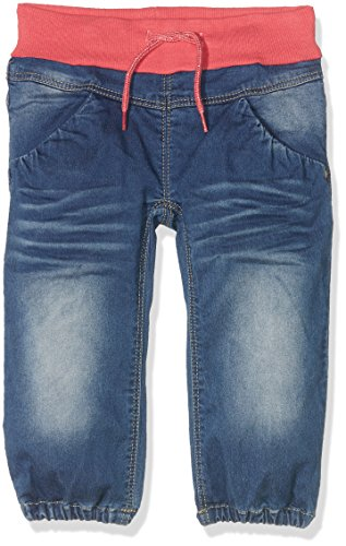 NAME IT Mädchen Jeanshose Nitbolet Bag/XR Dnm Pant MZ, Blau (Rapture Rose), 86