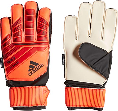 adidas Kinder Predator Top Training Fingersave Torwarthandschuhe, Active Solar Red/Black, 4 - Adidas Training Top