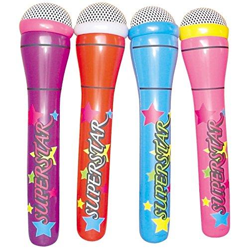 4-x-Mega-Mikrofon-aufblasbar-1-m-lang-Superstar-Mikro-f-Musiker-Luft-Band