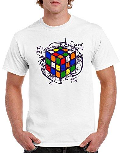 4189-Camiseta Premium, Rubikcube BLA XXXL