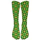 xinfub Happy St. Patrick's Day Compression Socks Soccer Socks High Socks Long Socks 50cm(19.7 inch) Comfortable 6141