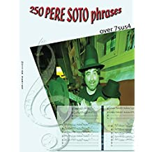 250 Pere Soto Phrases over 7sus4 (guitar series nº 6) (Spanish Edition)
