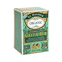 ST DALFOUR GREEN TEA,OG2,CINN APPLE, 25 BAG CASE_6