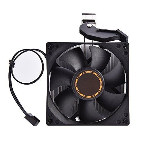 Asixx CPU-Lüfter, Computer-Lüfter Computer CPU-Lüfter Kühler Leiser Kühlkörper mit ausgezeichneter Wärmeableitung für AMD Athlon 64 5200