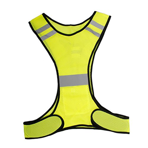 imported led reflective safety vest for running jogging biking cycling walking - a01 Imported LED Reflective Safety Vest for Running Jogging Biking Cycling Walking – A01 51Vu80io39L