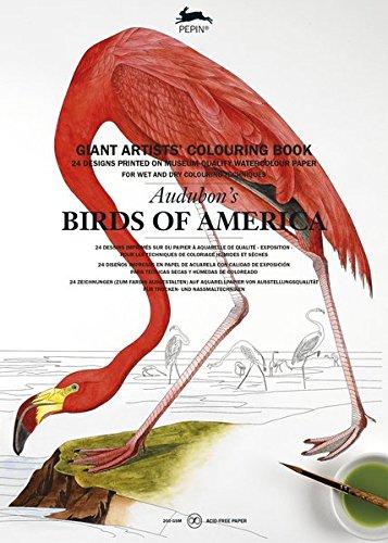 Audubon's Birds of America: Giant Artists' Colouring Book (Giant Artists' Colouring Books) - Audubon Birds Of America