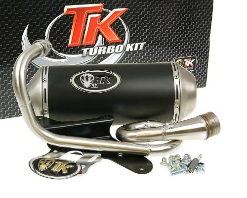 D'échappement turbokit Gmax pour Aprilia Scarabeo 50 cc Sport, City One, Derbi Atlantis, Boulevard, Roller