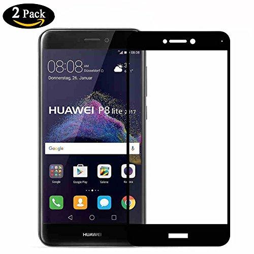 [2-Unidades] Huawei P8 Lite 2017 Protector de Pantalla,Y-ouni Cristal Templado Huawei P8...