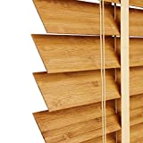 WENZHE Jalousien Bambusrollo Fenster Sichtschutz Rollos Raffrollo Schatten Isolierung Heben Zuhause Büro Schattierung, Bambus, 3 Farben, Größe Anpassbar (Farbe : A, größe : 150x160cm)