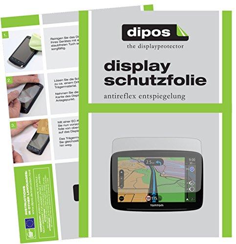TomTom Start 62 Schutzfolie - 3x dipos Displayschutzfolie Folie matt