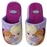 Disney Frozen Hausschuhe Die Eiskönigin Pantoffeln Mädchen Kindergarten Schuhe Gr. 25-32 (29/30)