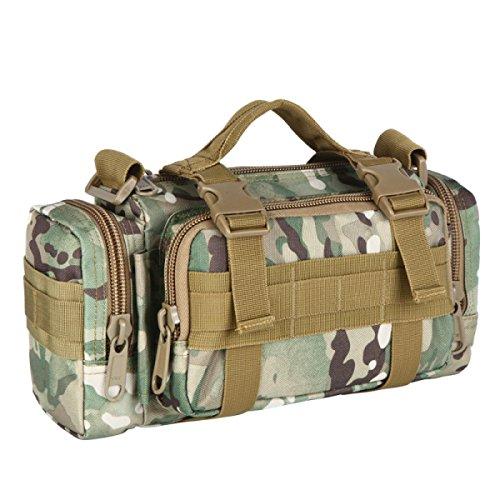 HAOYUXIANG Esterna Tasche Multifunzione Tracolla Equitazione / Viaggi / Tasche Sport / Camouflage Bag Multi-color,C7 C4