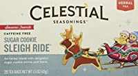 Celestial Seasonings - Sugar Cookie Sleigh Ride Holiday Herb Tea - 20 Tea Bags