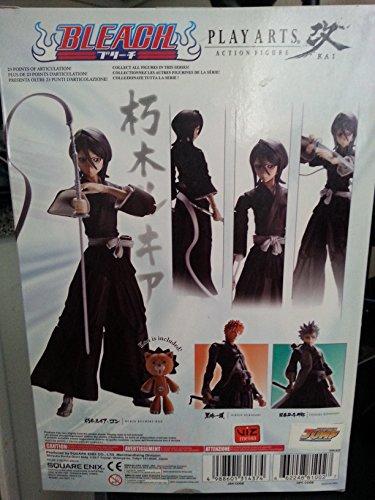 Figura (Play Arts) Bleach Square Enix Kai Acción Rukia 2