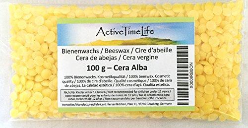 100% reine Bienenwachs Pastillen, 100 g