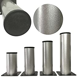 vielseitig einsetzbare F/ü/ße f/ür M/öbel Sofa Schrank Tisch verschiedene Gr/ö/ßen 10cm M/öbelf/ü/ße verstellbar aus Edelstahl