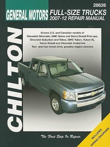 Chilton Total Car Care Chevrolet Silverado, Suburban, Tahoe & Avalanche