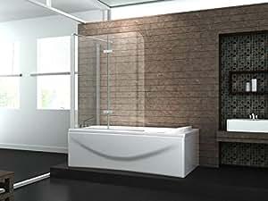 eck duschtrennwand around 70 badewanne baumarkt. Black Bedroom Furniture Sets. Home Design Ideas