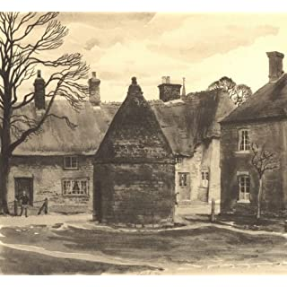 HARROLD. The Round House. Bedfordshire. By SR Badmin - 1946 - old antique vintage print - art picture prints of Beds