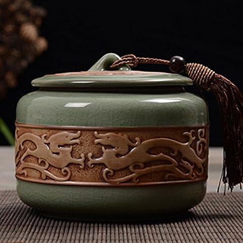 35Oxyde de pouce Céramique Cosy pour animal domestique Chat Urne UK Urne funéraire