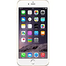 "Apple iPhone 6 Plus - Smartphone libre iOS (pantalla 5.5"", cámara 8 Mp, 16 GB, Dual-Core 1.4 GHz, 1 GB RAM), dorado"