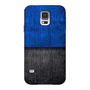 Great Blue Black Back Case Cover for Samsung Galaxy S5