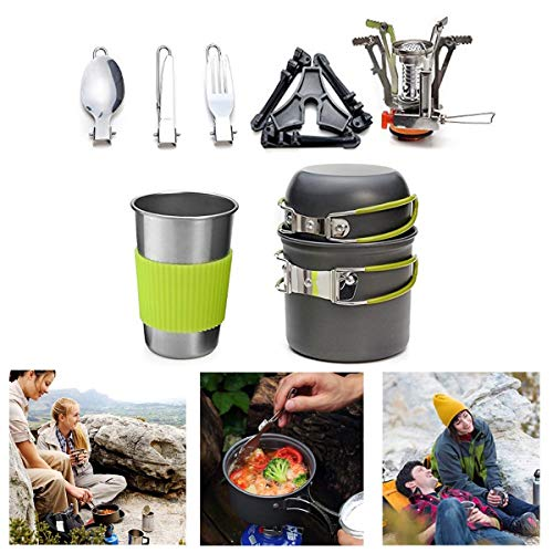 Extreme Cookset (B&H-ERX Mess Kit Backpacking Gear & Wandern im Freien Bug Out Bag Kochzubehör Cookset |)