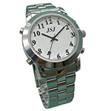English Talking Watch for Blind People or Visually Impaired People or the Elderly with Alarm of Quartz