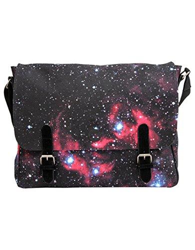 Mi-Pac Borsa a spalla, Cosmos Black (Nero) - GTM551