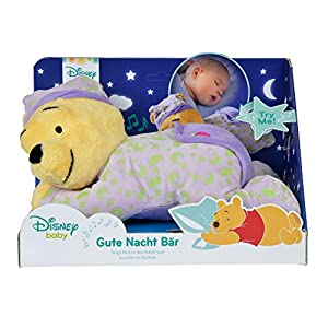 Simba 6315874904–Disney Winnie The Pooh Buonanotte Orso II con melodie