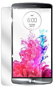 dipos LG G3 Schutzfolie (2 Stück) - kristallklare Premium Folie Crystalclear
