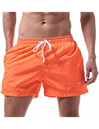 Guiran Hombre Bañadores De Natación Traje De Baño Pantalones Corto Playa Piscina Imprimió Transpirable Surf Shorts 1 L hT3Xvfv