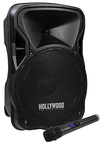 HOLLYWOOD the Starsound - Mobile Beschallungsanlage/PA-Anlage | MB-12 | 500W, Funkmikrofon