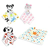 Baby Plush Comfort Blanket from Newborn Girl Boys Various Selection (Cat)