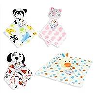 Manta para bebé con peluche [–] Niñas Niños bebés recién nacidos Regalos [Pato Panda Perros y Gatos]