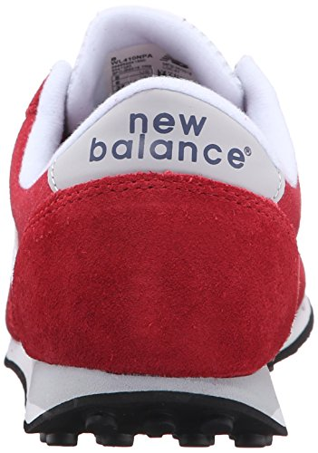 New Balance Women's 410 Prep Pack Lifestyle Sneaker, Brick Red/White, 12 B US Multicolore (Brick 802)