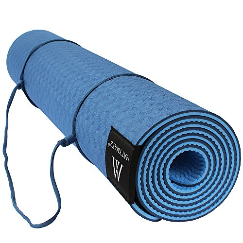 Goture Non Slip TPE Yoga Mat With Strap ,Sports Outdoor Exercise Gym Mat