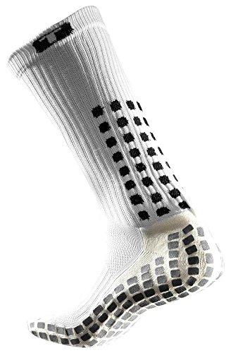 TruSox Mid-Calf Crew Thin Socken M - 38-42 EU weiß