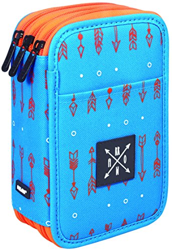 Milan Arrow Estuches, 20 cm, Azul