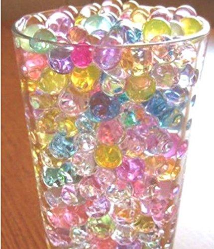 HY02A - Sfere in gel per fiori, 24 confezioni in 6 diversi colori
