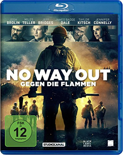No Way Out - Gegen die Flammen [Blu-ray]