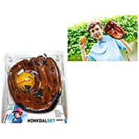 "Angel Sports 080015 guante de béisbol Left-hand baseball glove 22,9 cm (9"") - Guantes de béisbol (Imitación piel, Left-hand baseball glove, 22,9 cm (9""), Child, Marrón)"