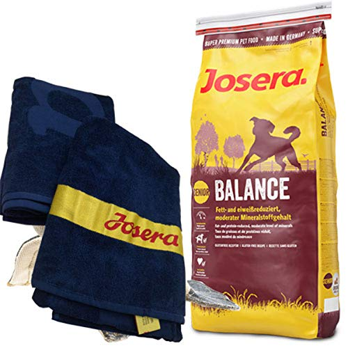Josera 15 kg Balance Strand-Handtuch 70 x 140 cm