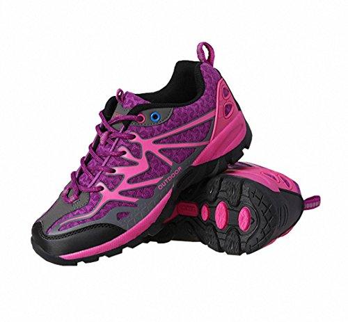 Ben Sports Calzature da carponi da trekking ed escursionismo Unisex da donna Uomo viola