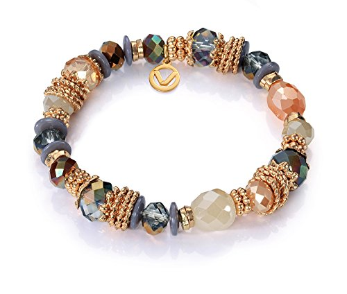 Imagen de pulsera viceroy fashion 7008p09017 dorado, cristal y piedras