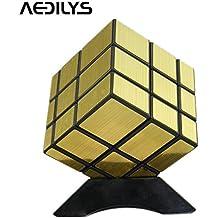 Capa de 12color Megaminx velocidad Cubo Puzzle, Megaminx cerebro Teaser mágico cubo velocidad de Rubik Puzzle Toy dorado
