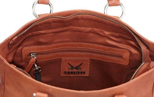 Sansibar Haboob B-082 HA 44, Sac à main femme Orange-TR-E1-59